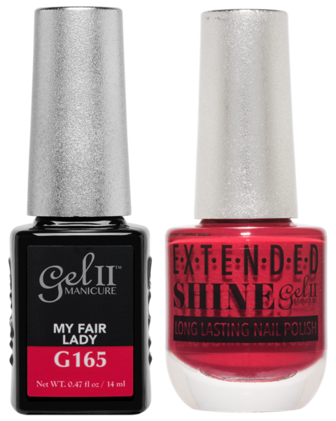 Gel II Manicure And Extended Shine, G165, My Fair Lady, 0.47oz KK