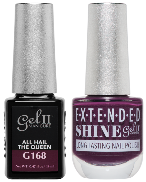 Gel II Manicure And Extended Shine, G168, All Hail The Queen, 0.47oz KK