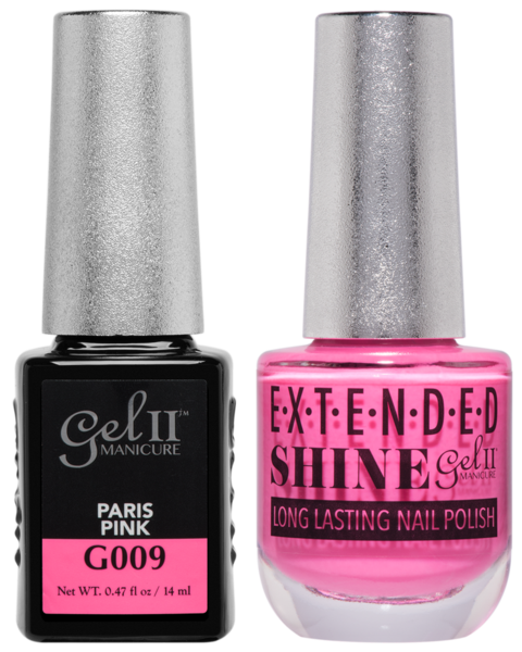 Gel II Manicure And Extended Shine, G009, Paris Pink, 0.47oz KK