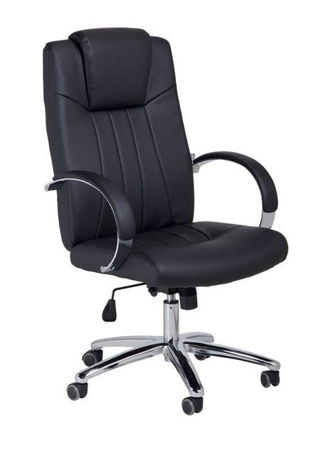 Cre8tion Guest Chair, Black, GC003BK (NOT Included Shipping Charge)