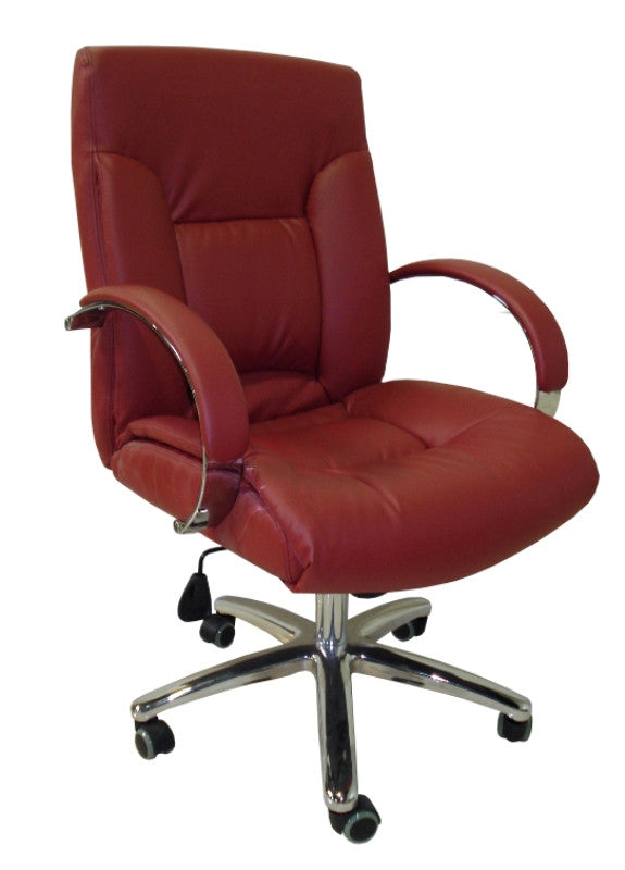 Cre8tion Guest Chair, Bright Burgundy, GC004BB (NOT Included Shipping Charge)
