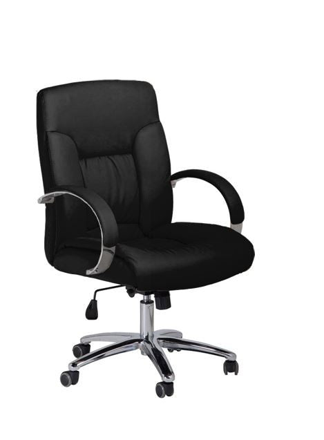 Cre8tion Guest Chair, Black, GC004BK (NOT Included Shipping Charge)