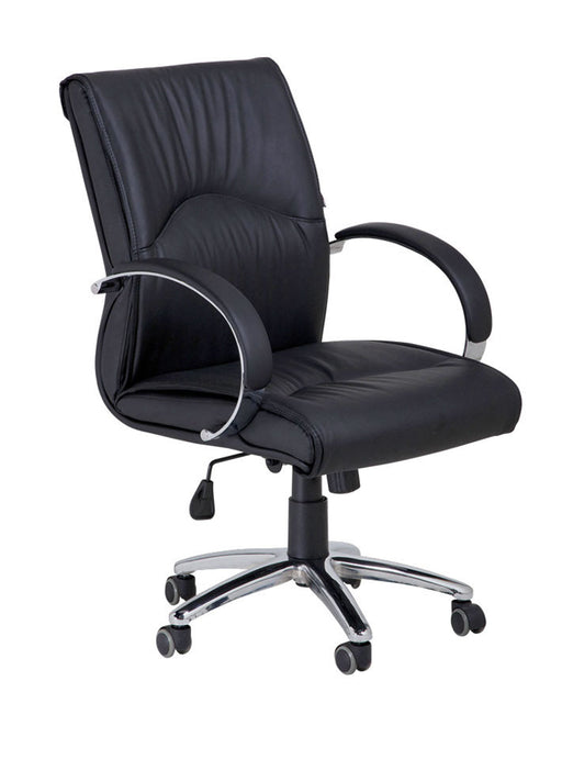 Cre8tion Guest Chair, Black, GC005BK (NOT Included Shipping Charge)