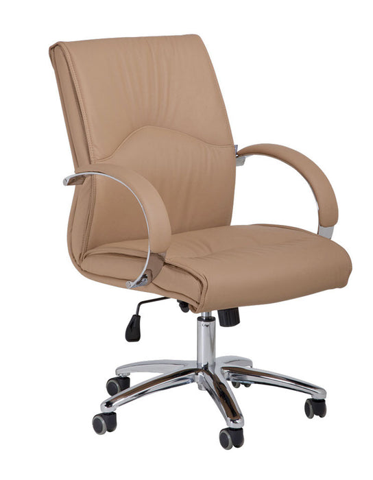 Cre8tion Guest Chair, Cappuccino, GC005CA KK (NOT Included Shipping Charge)