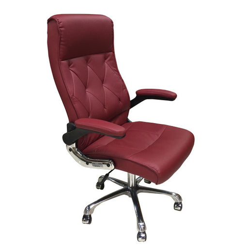 Cre8tion Guest Chair, Burgundy, GC006BU (NOT Included Shipping Charge)