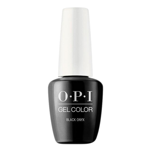 OPI GelColor, T02, Black Onyx (Available 3 IN 1), 0.5oz BB KK1129