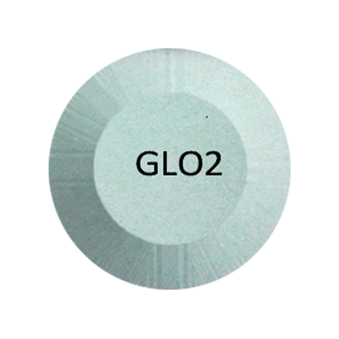 Chisel 2in1 Acrylic/Dipping Powder, Glow in the Dark Collection, 2oz, GLO02  BB KK1220
