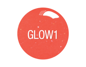 SNS Gelous Dipping Powder, GW01, Glow In The Dark Collection, 1oz KK0724