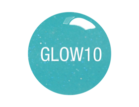 SNS Gelous Dipping Powder, GW10, Glow In The Dark Collection, 1oz KK0724