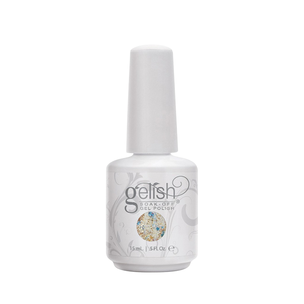 Gelish Gel Polish, 01482, Haute Holiday Collection 2014, Feeling Bubbly, 0.5oz OK0422VD