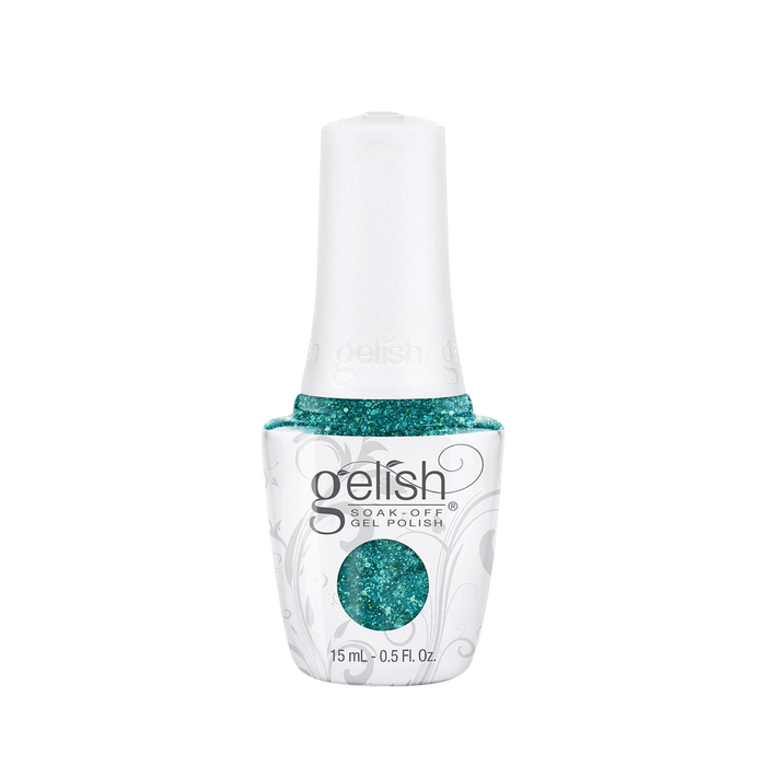 Gelish Gel Polish, 01487, Haute Holiday Collection 2014, Kisses Under the Mistletoe, 0.5oz OK0422VD