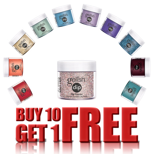 Gelish Dipping Powder, 0.8oz, Buy 10 Get 1 FREE