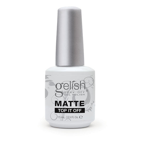 Gelish Gel, 01222, Matte Top-It-Off Sealer, 0.5oz KK1019