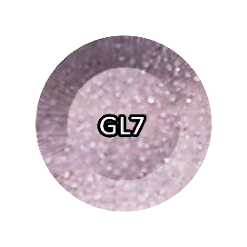 Chisel 2in1 Acrylic/Dipping Powder, Glitter Collection, 2oz, GL07 KK0810