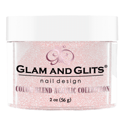 G & G Color Blend Acrylic Powder, BL3015, Rose Quartz, 2oz