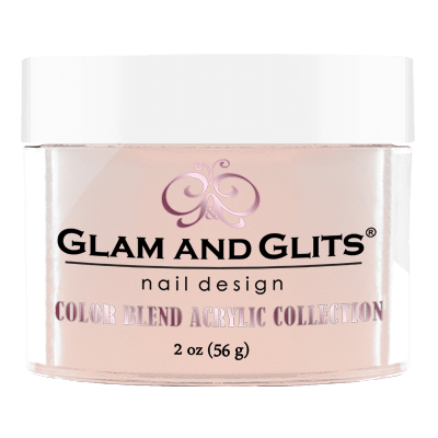 G & G Color Blend Acrylic Powder, BL3017, Touch Of Pink, 2oz