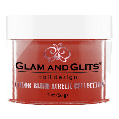 G & G Color Blend Acrylic Powder, BL3042, Caught Red Handed, 2oz