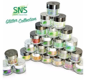 SNS Gelous Dipping Powder, Glitter Collection, 1oz Full Line Of 24 Colors (from GL01 to GL24, Price: $11.92/pc) Pro