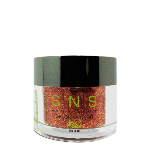 SNS Gelous Dipping Powder, HC06, Holiday Collection, 1oz BB KK
