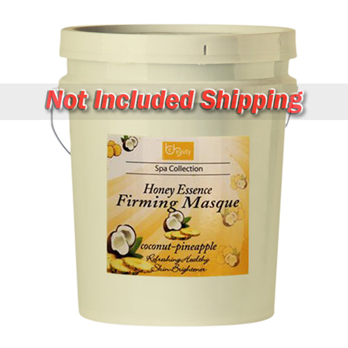 Be Beauty Spa Collection, Honey Essence Firming Masque, Coconut & Pineapple, 5Gallon