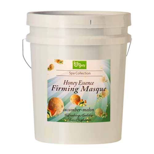 Be Beauty Spa Collection, Honey Essence Firming Masque, Cucumber & Melon, 5Gallon KK0511