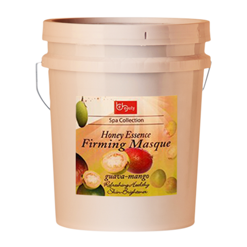 Be Beauty Spa Collection, Honey Essence Firming Masque, Guava & Mango, 5Gallon