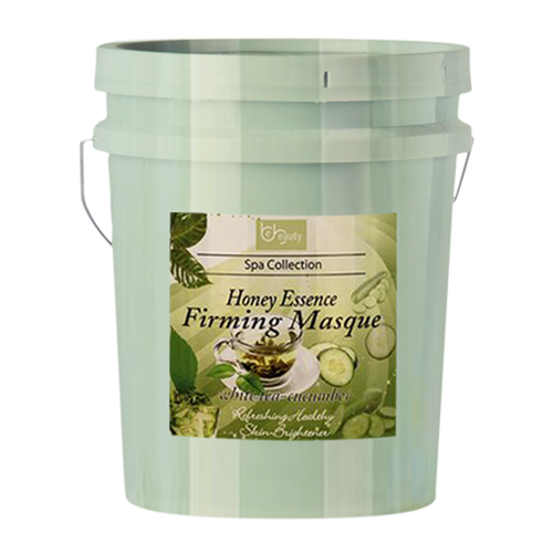 Be Beauty Spa Collection, Honey Essence Firming Masque, White Tea & Cucumber, 5Gallon KK0511