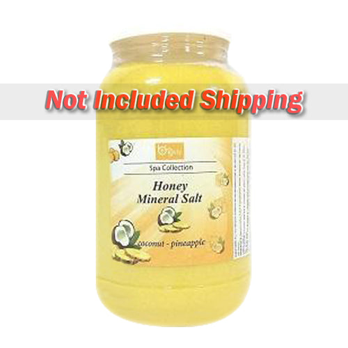 Be Beauty Spa Collection, Honey Mineral Salt, CSAL106, Coconut & Pineapple, 1Gallon KK0511