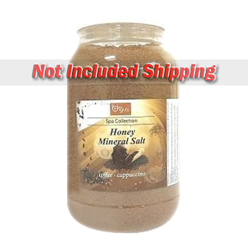Be Beauty Spa Collection, Honey Mineral Salt, CSAL111, Coffee & Cappuccino, 1Gallon KK0511