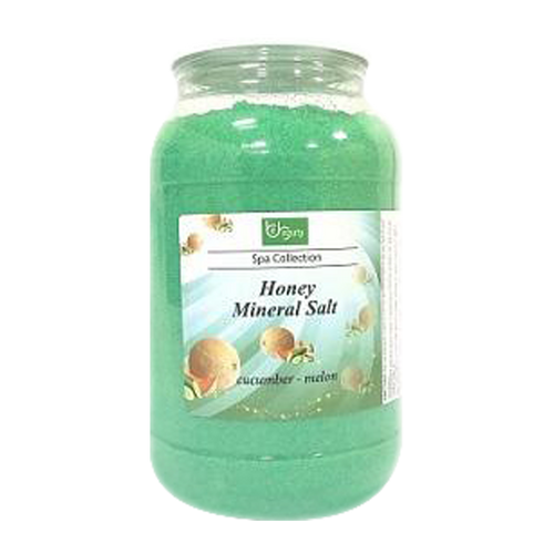 Be Beauty Spa Collection, Honey Mineral Salt, CSAL116, Cucumber & Melon, 1Gallon KK0511