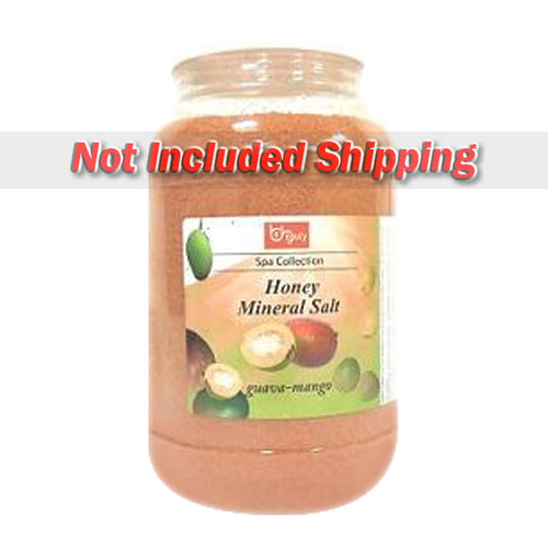 Be Beauty Spa Collection, Honey Mineral Salt, CSAL114, Guava & Mango, 1Gallon KK0511