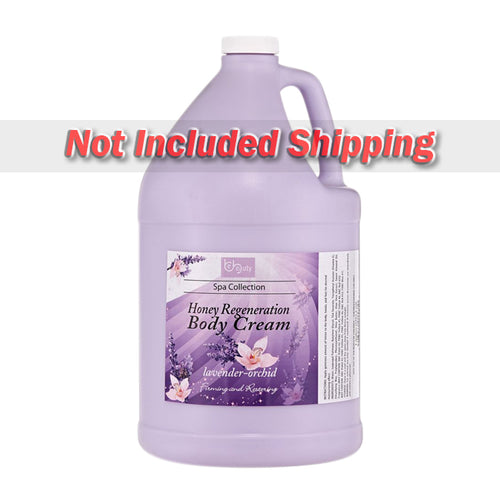 Be Beauty Spa Collection, Honey Regeneration Body Cream, Lavender & Orchid, 1 Gallon, CLOT015G1