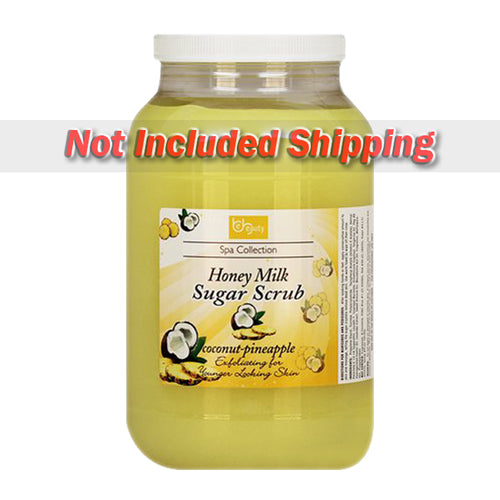 Be Beauty Spa Collection, Honey Organic Sugar Scrub, CSC2116G1, Coconut & Pineapple, 1Gallon