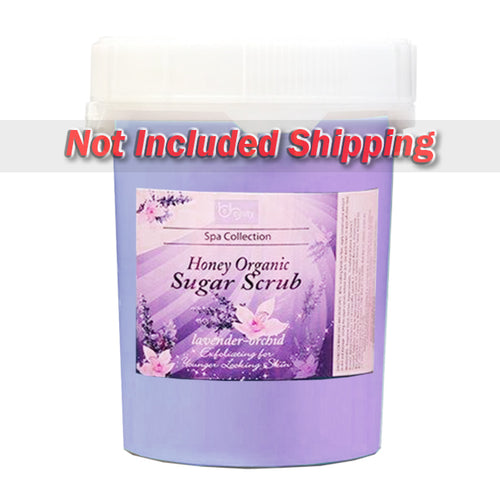 Be Beauty Spa Collection, Honey Organic Sugar Scrub, CSC2120G5, Lavender & Orchid, 5Gallon