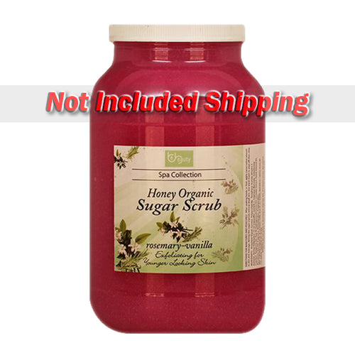 Be Beauty Spa Collection, Honey Organic Sugar Scrub, CSC2117G1, Rosemary & Vanilla, 1Gallon KK0511