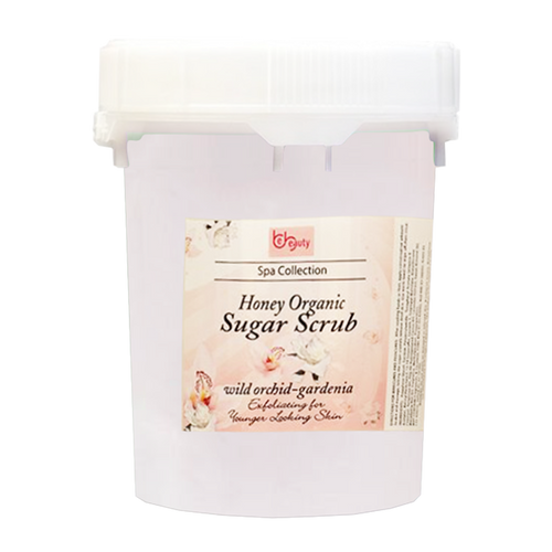 Be Beauty Spa Collection, Honey Organic Sugar Scrub, CSC2118G5, Will Orchid & Gardenia, 5Gallon