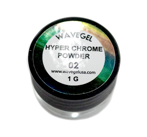 Wave Gel Nail Art Hyper Chrome, 02, 1oz OK1129