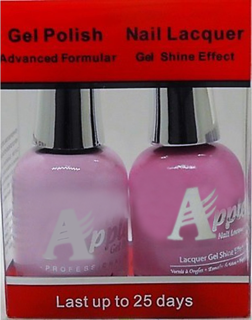 Apple Nail Lacquer And Gel Polish, 211, Extreme Pink, 0.5oz KK