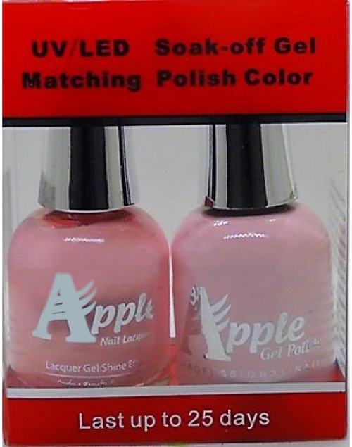 Apple Nail Lacquer And Gel Polish, 218, Sweet Pink, 0.5oz KK