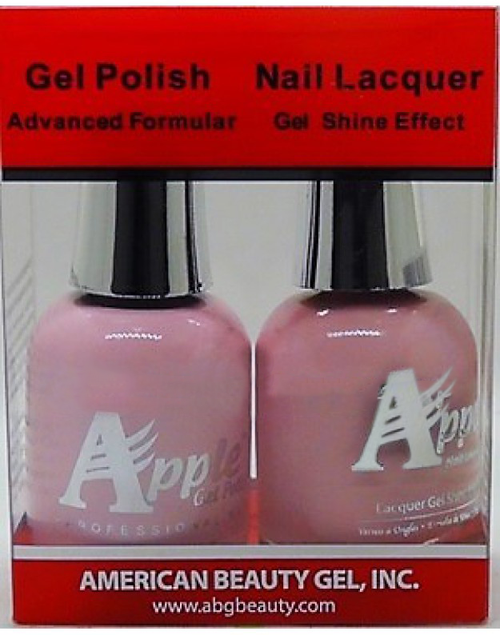 Apple Nail Lacquer And Gel Polish, 220, Forever Love, 0.5oz KK