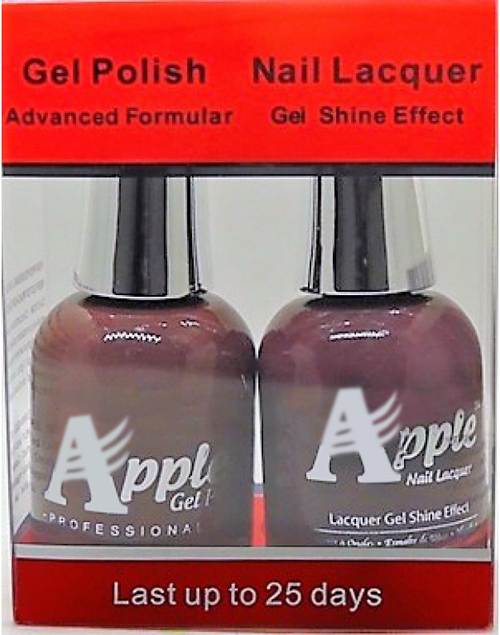 Apple Nail Lacquer And Gel Polish, 241, Crescent-Moon, 0.5oz KK