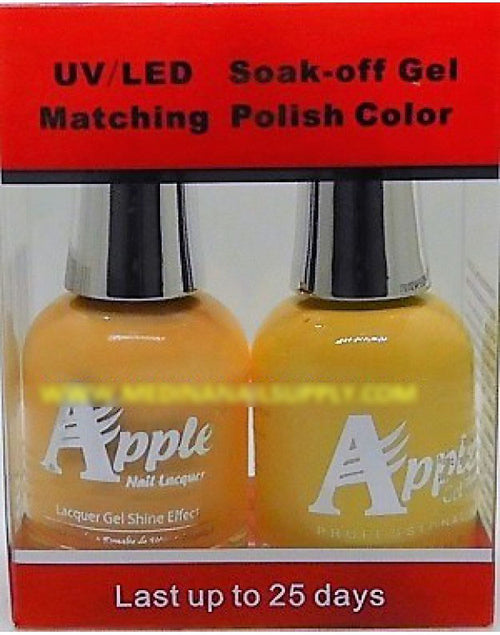 Apple Nail Lacquer And Gel Polish, 265, Tangerine Passion, 0.5oz KK
