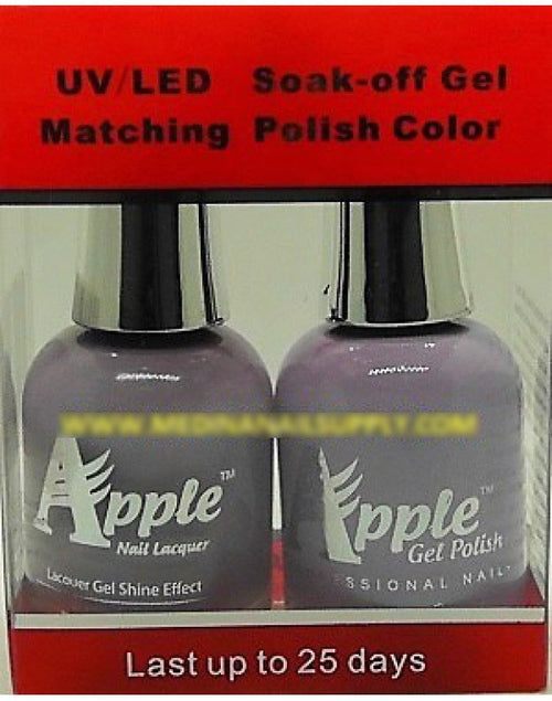 Apple Nail Lacquer And Gel Polish, 292, Angel's Halo, 0.5oz KK