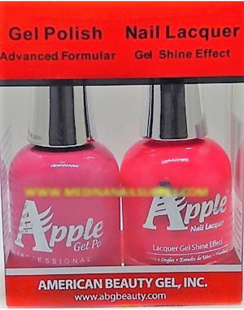 Apple Nail Lacquer And Gel Polish, 312, Wild N Out, 0.5oz KK