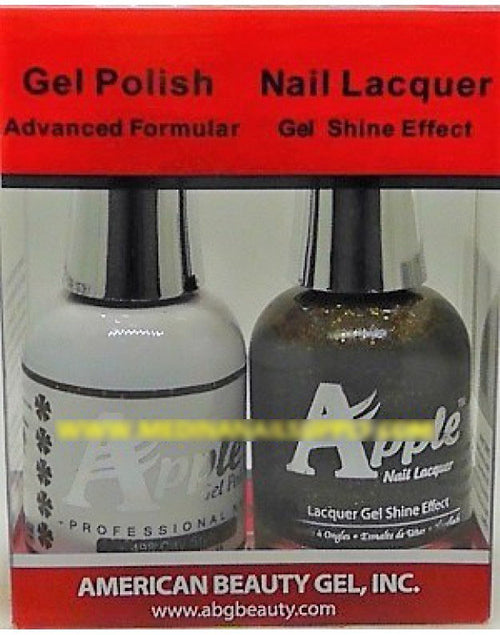 Apple Nail Lacquer And Gel Polish, 498, City Style, 0.5oz KK