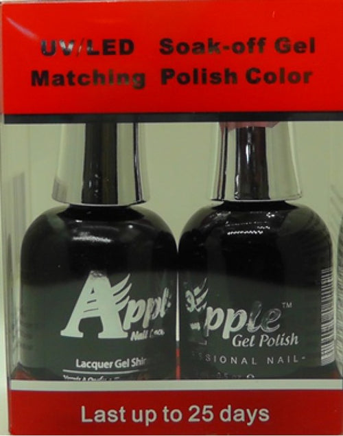 Apple Nail Lacquer And Gel Polish, 201, Jazz-Dance, 0.5oz KK