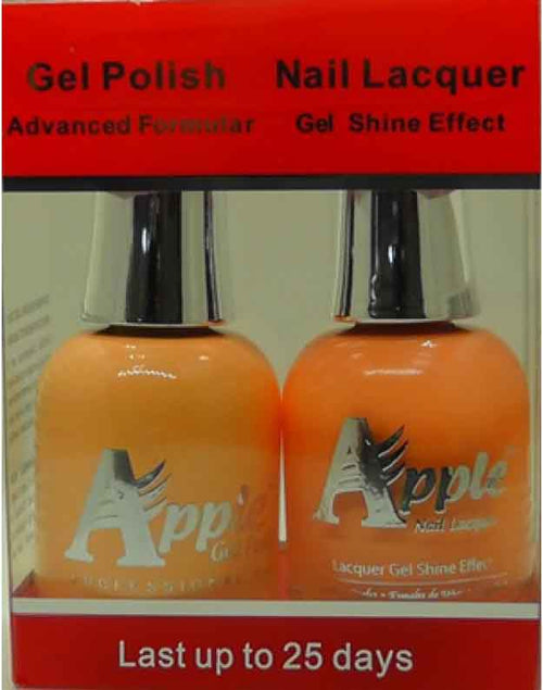 Apple Nail Lacquer And Gel Polish, 224, Pretty Mary, 0.5oz KK