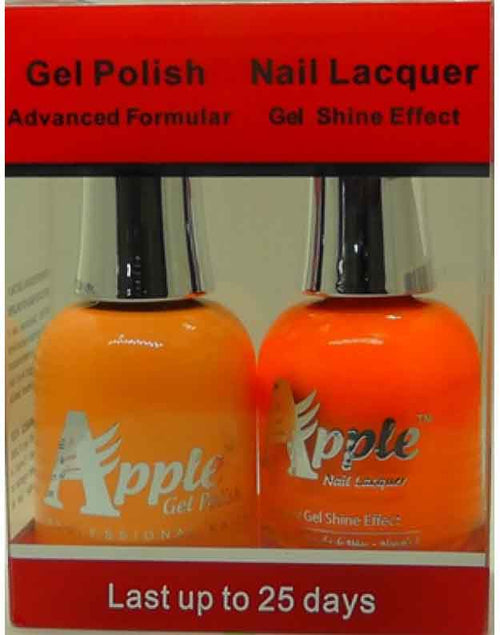 Apple Nail Lacquer And Gel Polish, 228, Neon Glow, 0.5oz KK