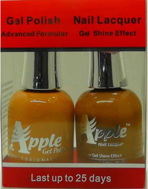Apple Nail Lacquer And Gel Polish, 230, Sandy Land, 0.5oz KK