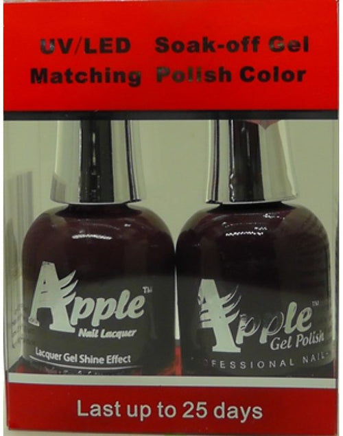 Apple Nail Lacquer And Gel Polish, 239, Marooney, 0.5oz KK